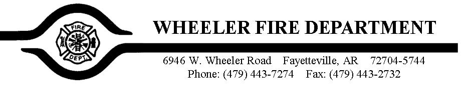Wheeler Fire Department
